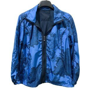 Three Hearts Jacket Blue Polyester Lightweight